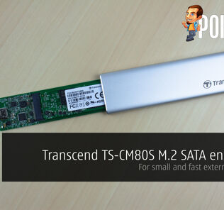 Transcend TS-CM80S M.2 SATA enclosure review — for small and fast external storage! 30