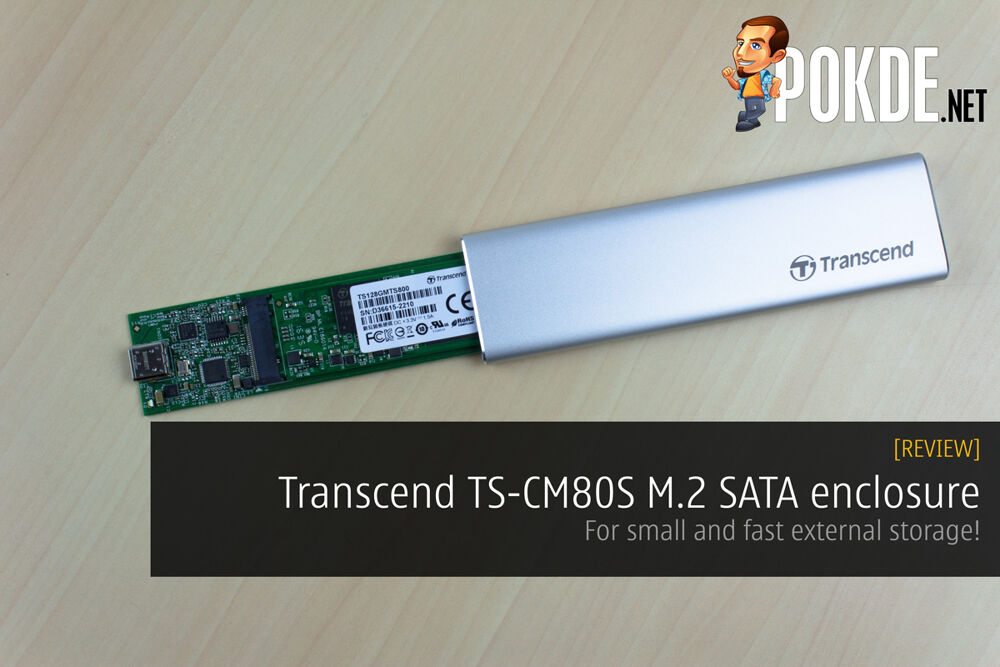 Transcend TS-CM80S M.2 SATA enclosure review — for small and fast external storage! 19