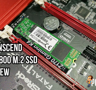 Transcend MTS800 M.2 256GB SSD review 21