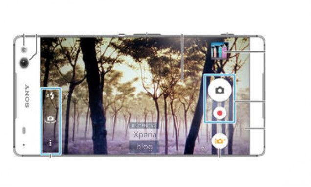 Sony Xperia C5 — bezel-less display 19