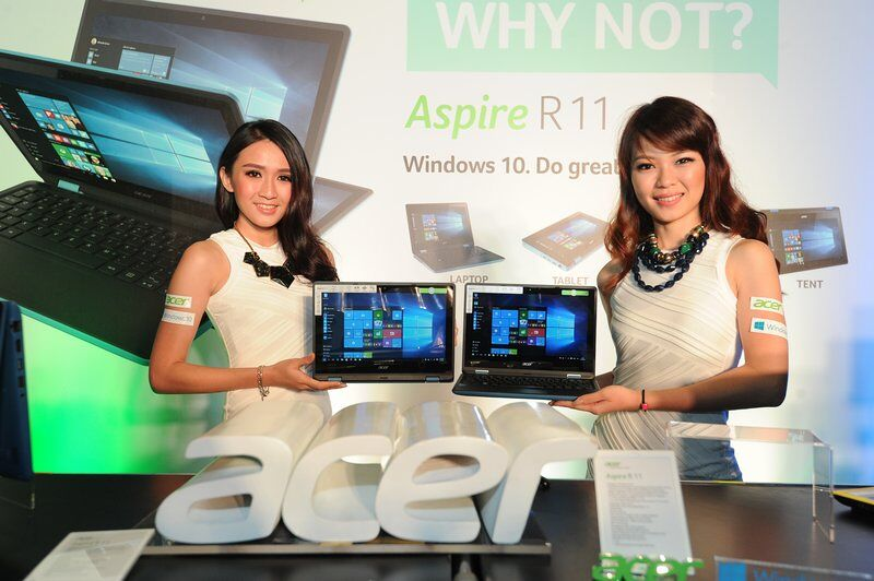 Acer unveils the Aspire R 11 21