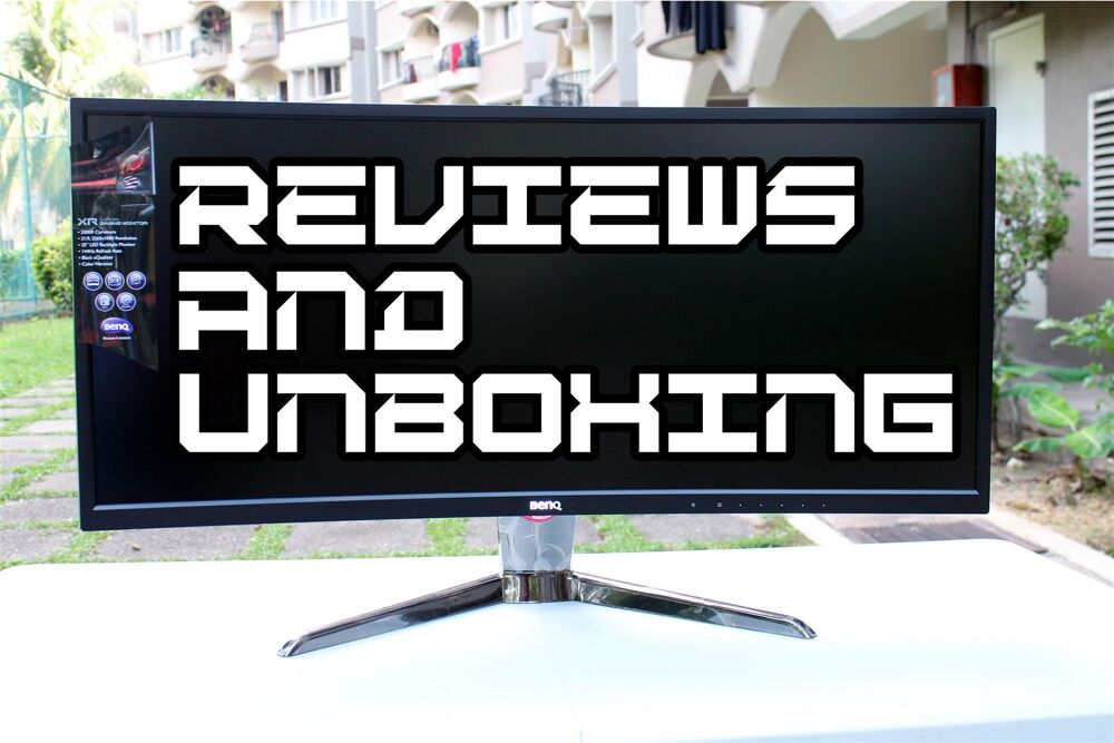 BenQ XR3501 Curved Gaming Monitor Review 22