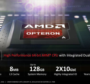 AMD Opteron A1100 SoC 64-bit ARM officially enter the market 24