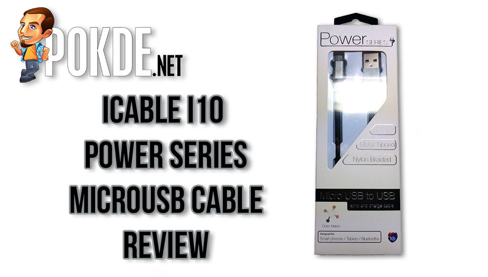 iCable i10 Power Series microUSB Cable 23