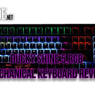 Ducky Shine 5 RGB mechanical keyboard review 25