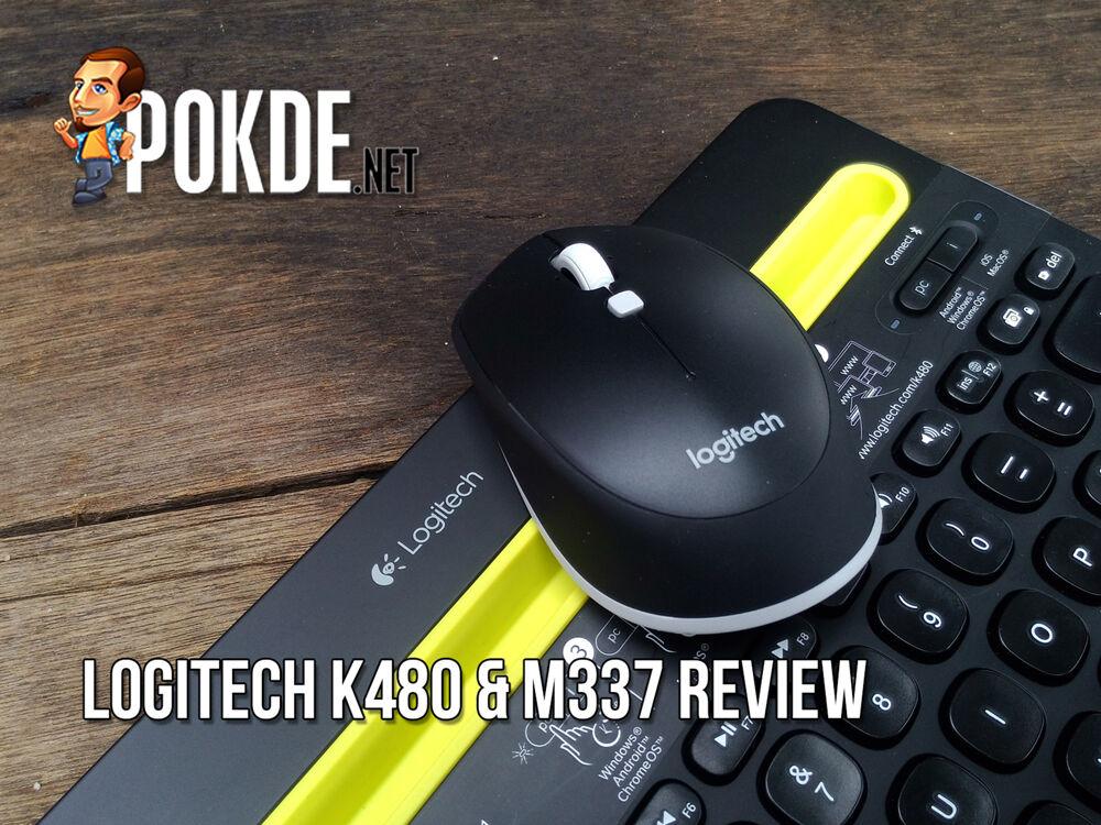 Logitech K480 & M337 review 22