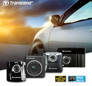 Transcend DrivePro Car Video Recorders announced 29