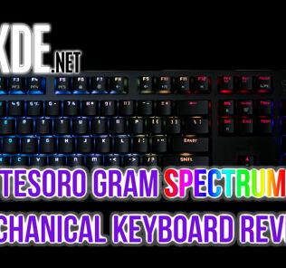 Tesoro Gram Spectrum review — mechanical feel, membrane look 25