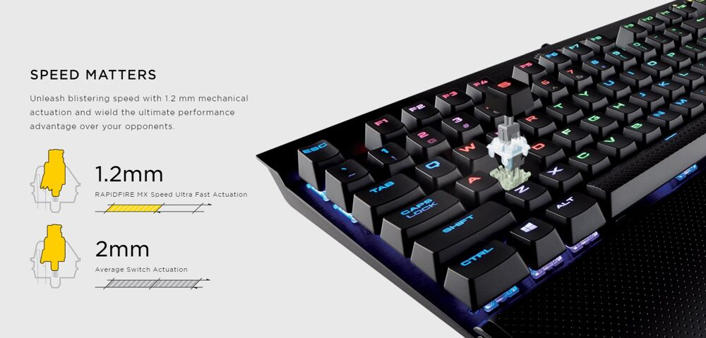 Corsair Rapidfire mechanical keyboards now official 18