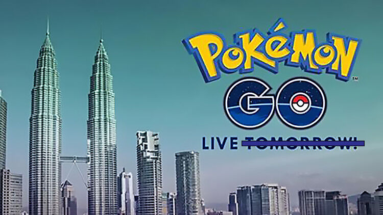 Pokemon GO Malaysia not coming today 19