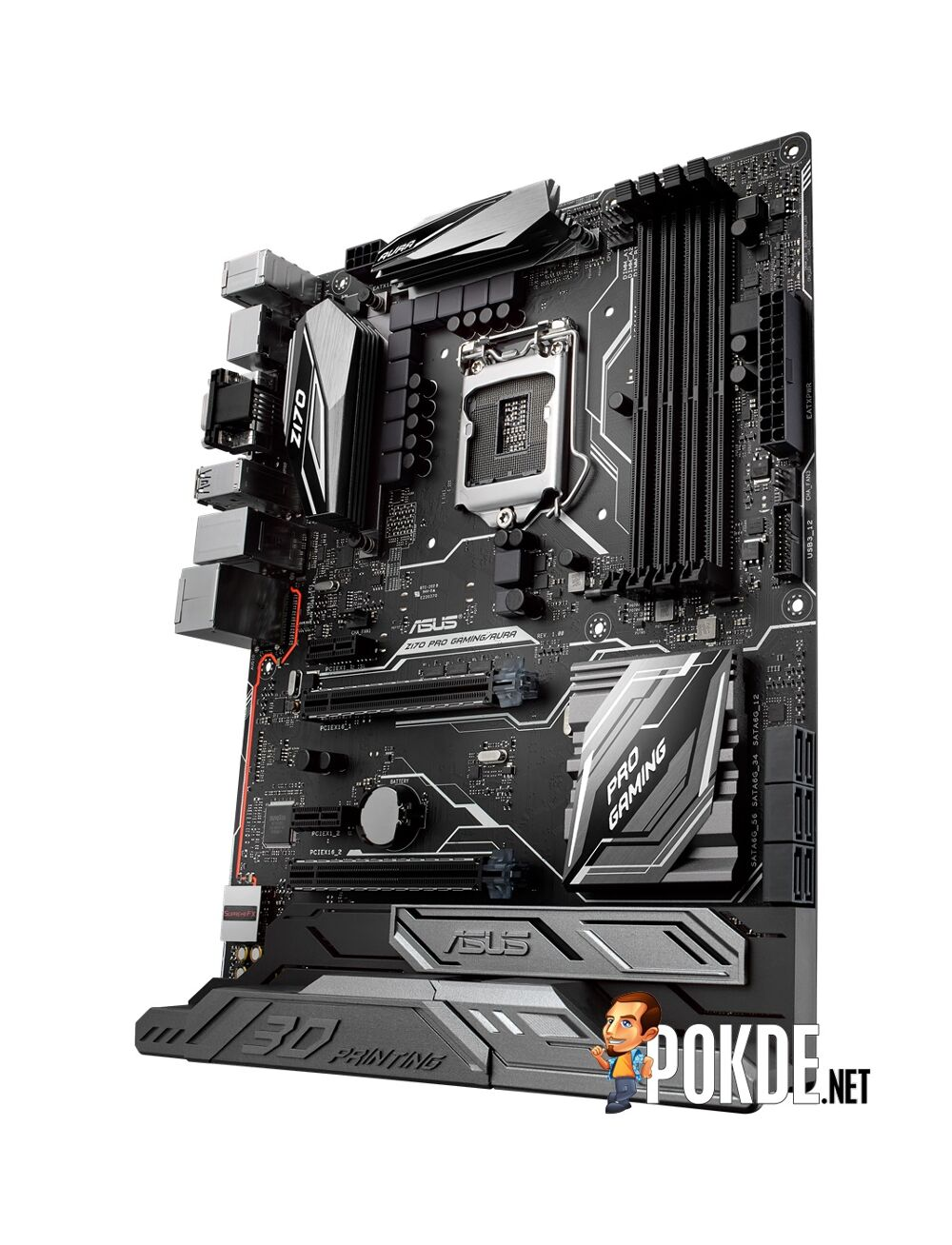 ASUS launches new motherboard with a patent-pending mounting design - ASUS Z170 Pro Gaming/Aura 20