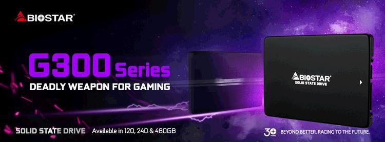 BIOSTAR G300 series of SSDs debuts 19
