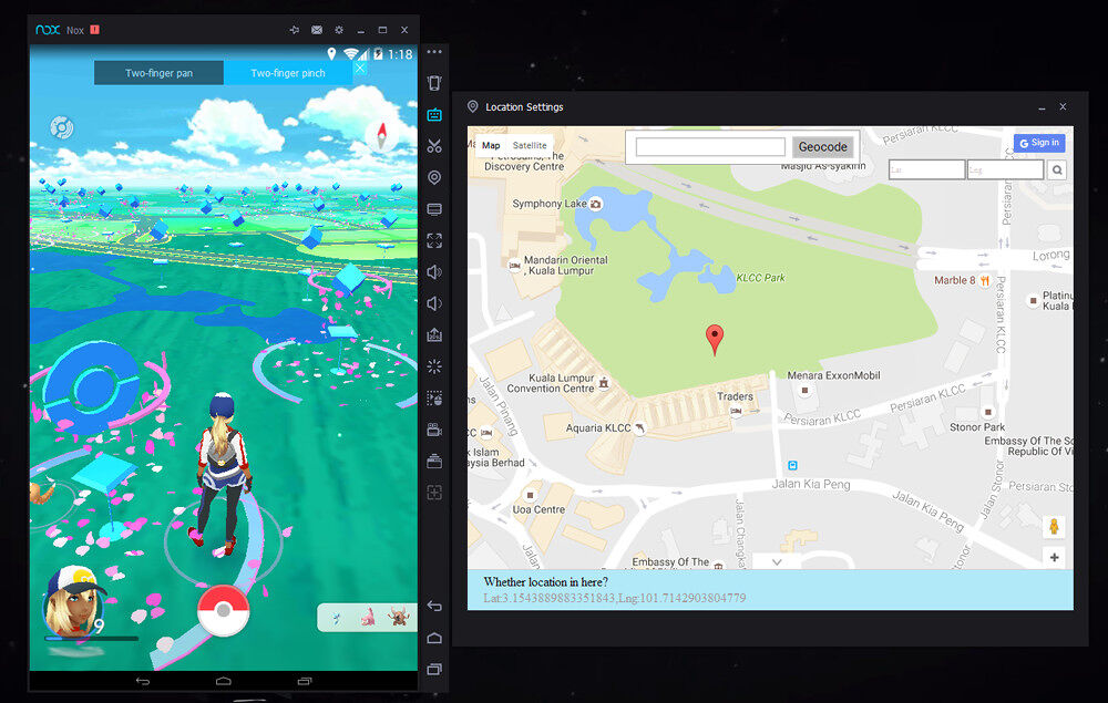 Play Pokemon Go without ever leaving your seat 19