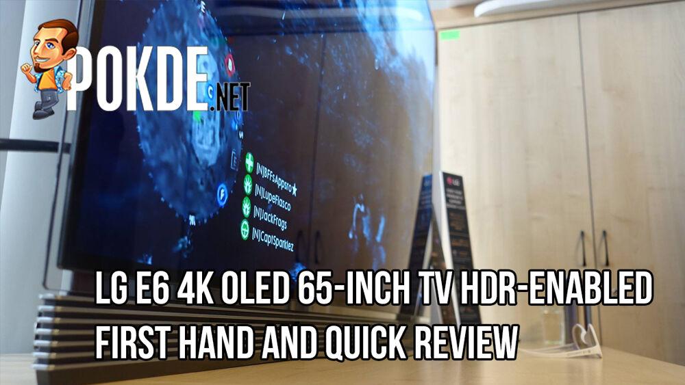 LG E6 4K OLED TV —First Impressions 18