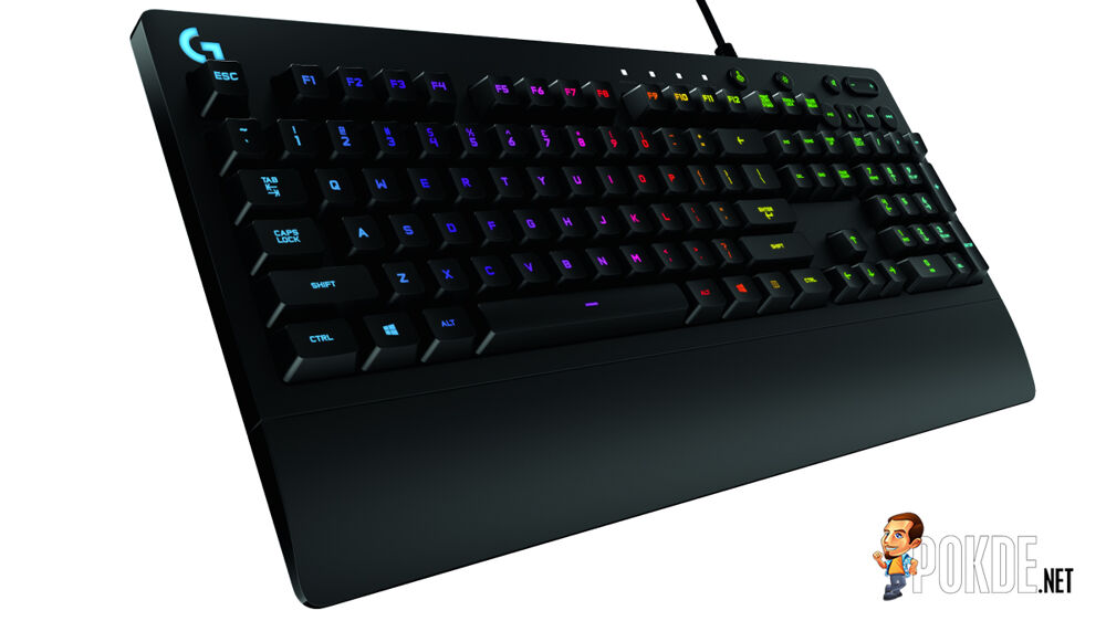 Logitech G213 Prodigy with Mech-Dome to brings the Cherry MX profile on a membrane keyboard 16