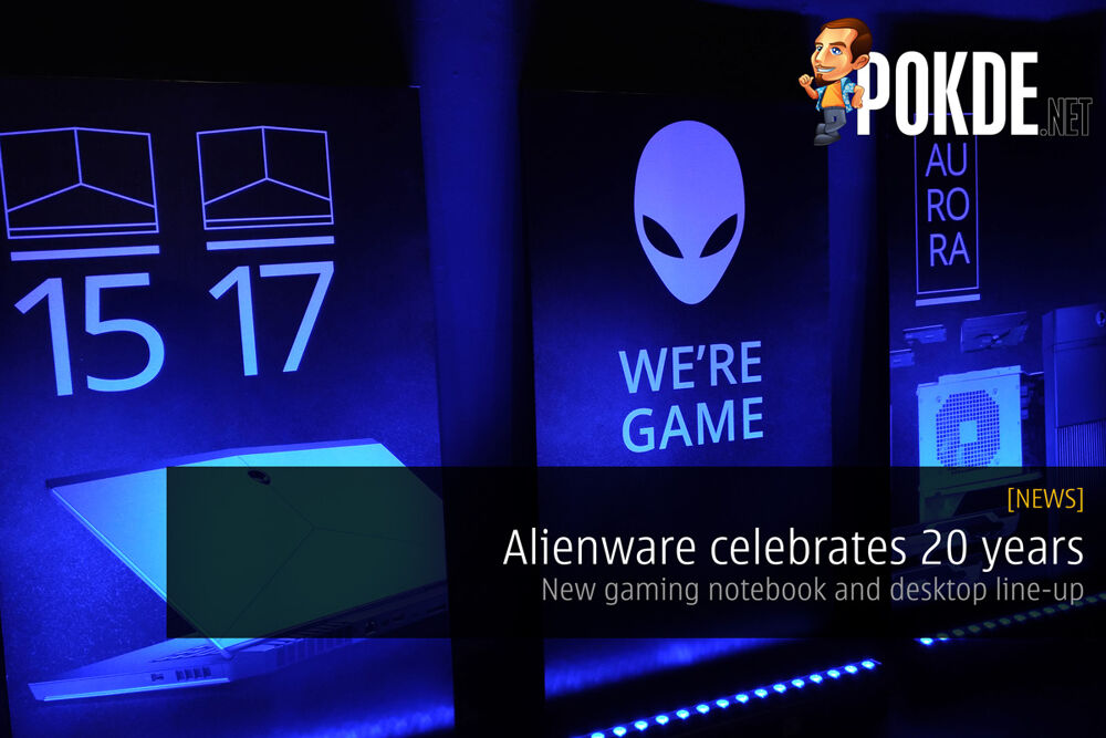 Alienware celebrates 20 years by launching new gaming notebook and desktop line-up 17