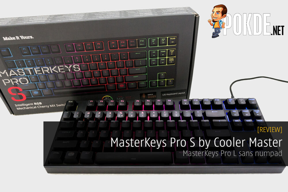 MasterKeys Pro S mechanical keyboard review 26