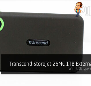 Transcend StoreJet 25MC 1TB review — with a USB Type-C connector 20