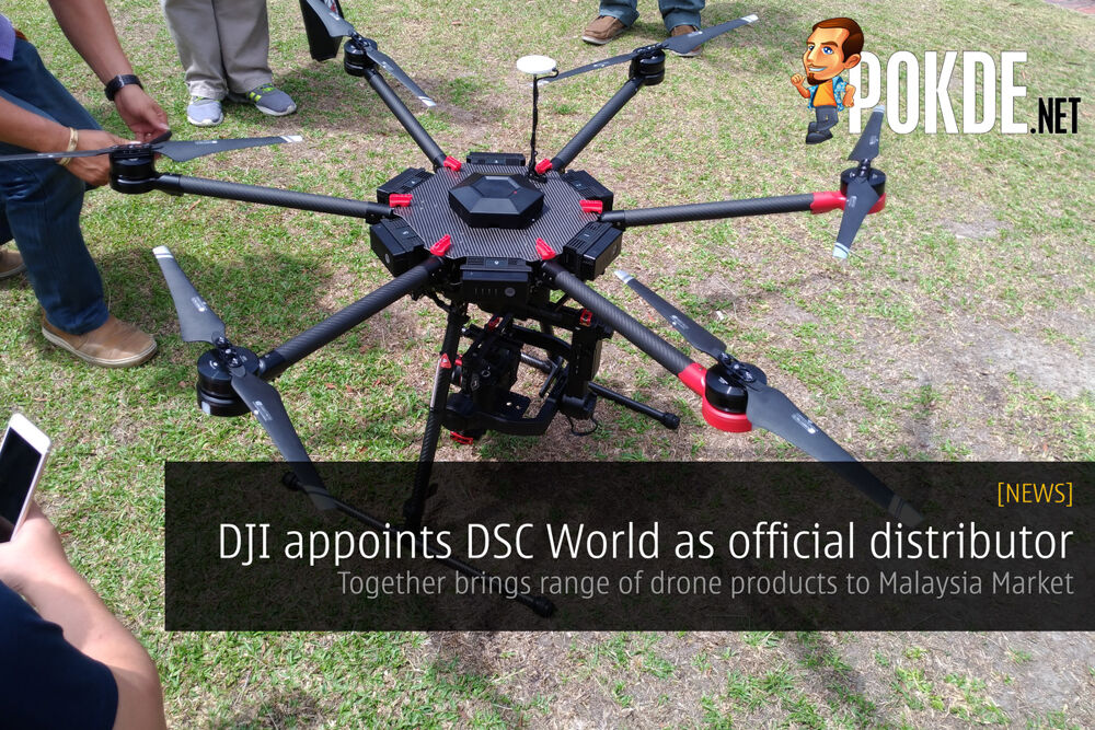 DJI appoints DSC World Sdn Bhd as official distributor in Malaysia 27