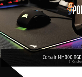 Get your Corsair MM800 RGB Polaris in October for RM319 31
