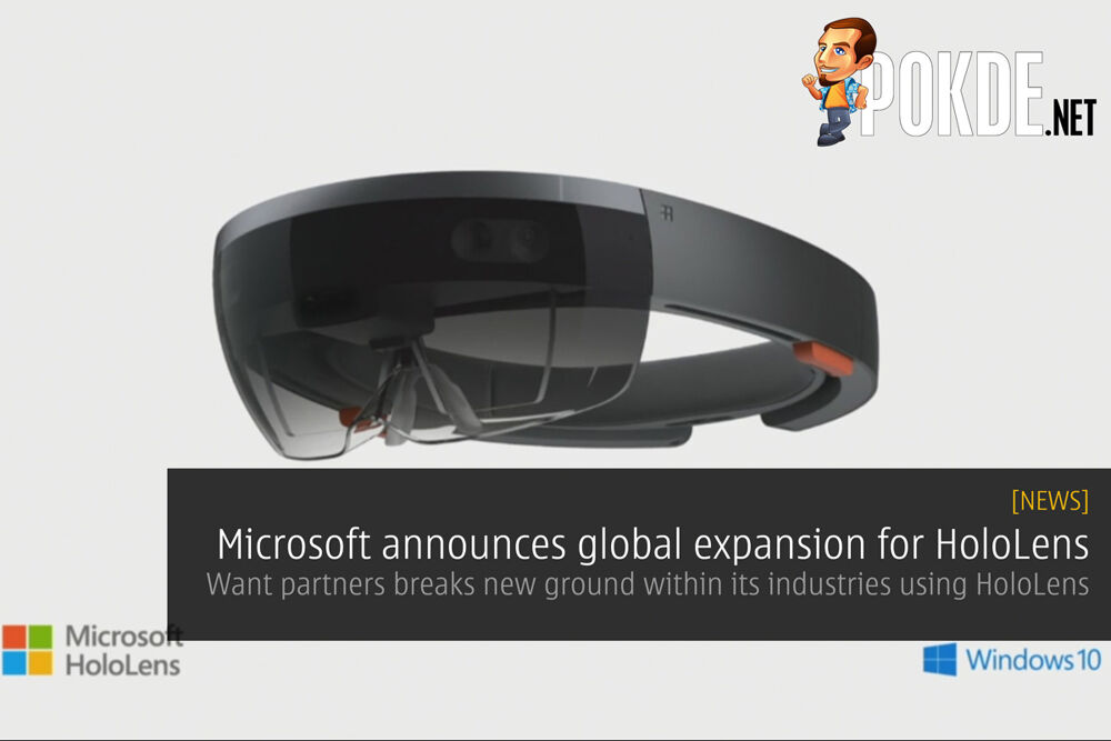 Microsoft announces global expansion for HoloLens 21