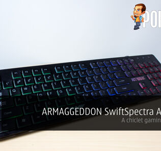ARMAGGEDDON SwiftSpectra AK-333s review — a chiclet gaming keyboard 24