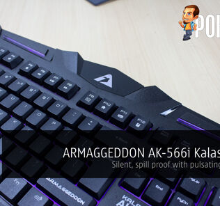 ARMAGGEDDON AK-566i Kalashnikov Gaming Keyboard review 25