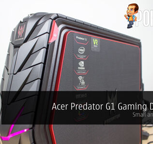 Acer Predator G1 gaming desktop review — small and powerful 25