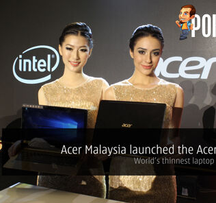 Acer Malaysia launched the Acer Swift 7 – world's thinnest laptop at 9.98mm 22