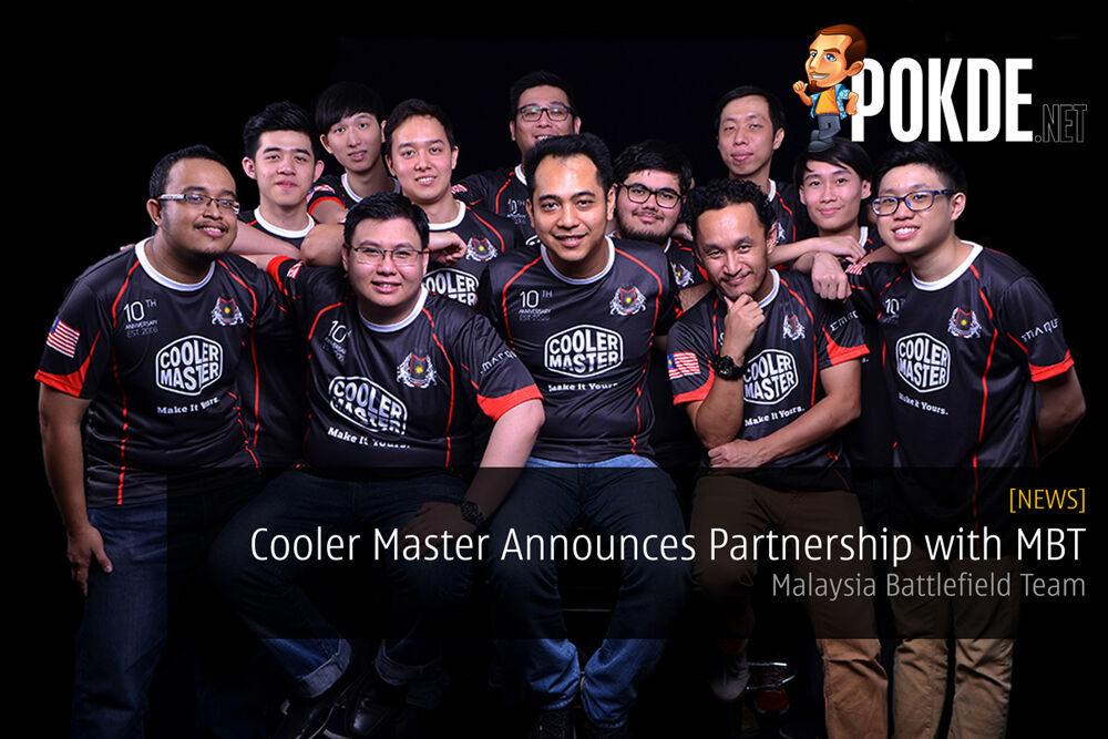 Cooler Master Announces Partnership with Malaysia Battlefield Team (MBT) 22