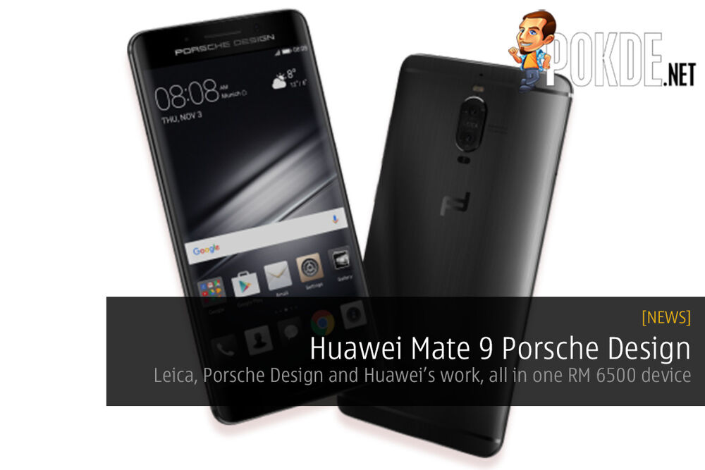 Huawei partners with Porsche to give us the Mate 9 Porsche Design 19