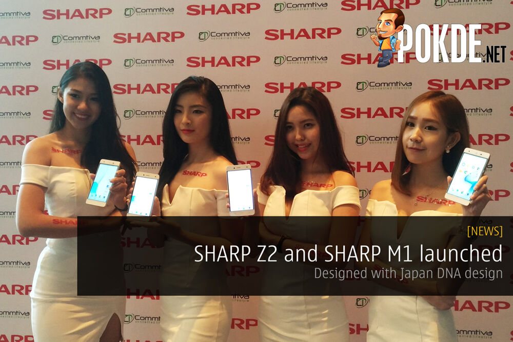 SHARP Z2 and SHARP M1 launched — designed with Japan DNA design 24