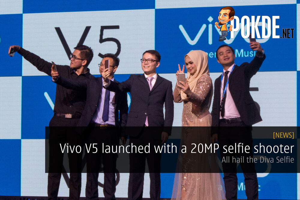 Vivo V5 launched with a 20MP selfie shooter — All hail the Selfie Diva 19
