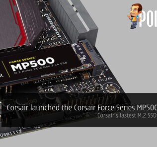 Corsair launched the Corsair Force Series MP500 SSD — Corsair's fastest M.2 SSD with NVMe 29