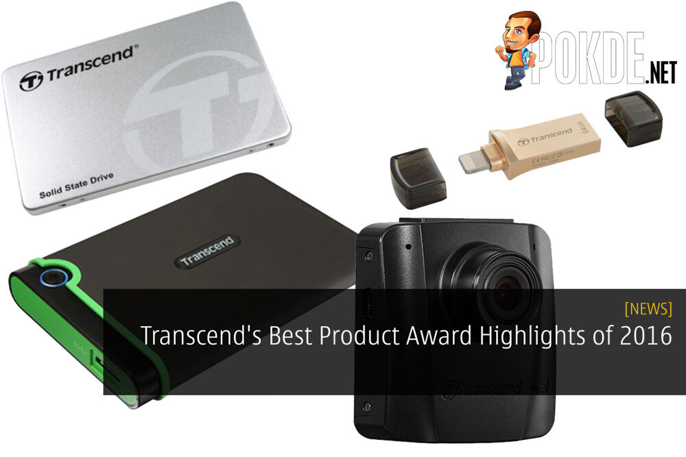 Transcend's Best Product Award Highlights of 2016 27