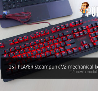 1ST PLAYER Steampunk V2 mechanical keyboard review — it's now modular 19