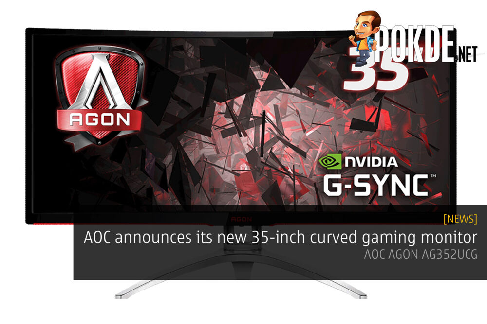 AOC announces its new 35-inch curved gaming monitor — AOC AGON AG352UCG 16