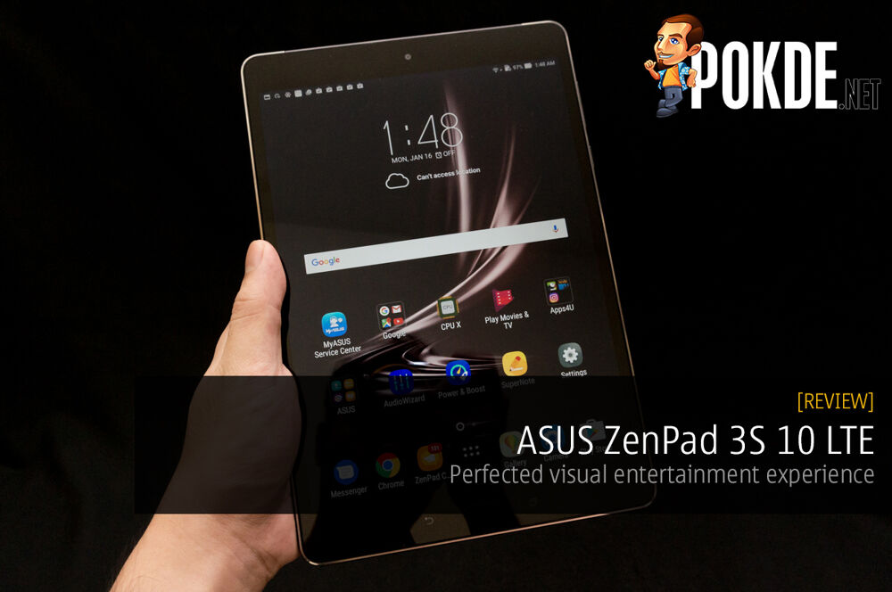 ASUS ZenPad 3S 10 LTE (Z500KL) review — perfected visual entertainment experience 23