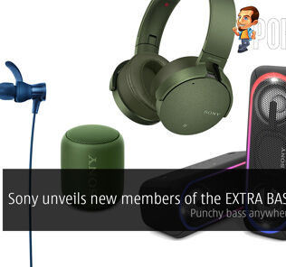 Sony unveils new members of the EXTRA BASS series 23