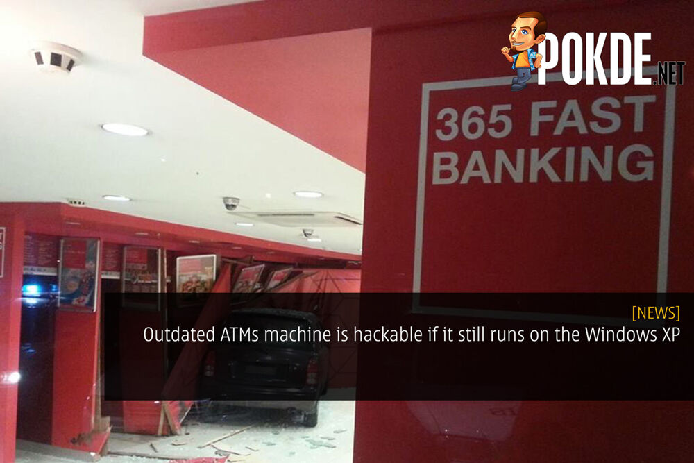 Outdated ATMs machine is hackable if it still runs on the Windows XP 19