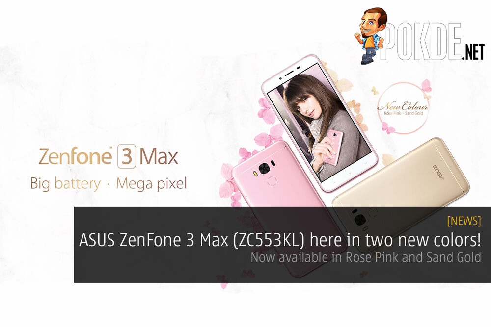 ASUS ZenFone 3 Max (ZC553KL) to come in two new colors! 18