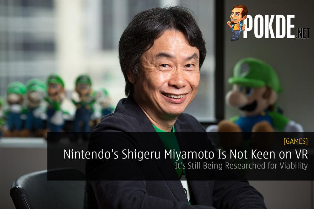 nintendo shigeru miyamoto VR virtual reality