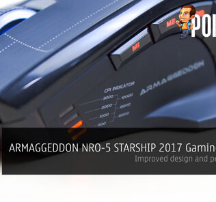 ARMAGGEDDON NRO-5 STARSHIP III 2017 Edition Gaming Mouse Review - Improved design and performance 22