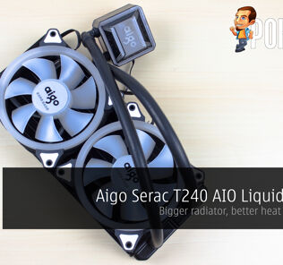 Aigo Serac T240 AIO Liquid Cooler Review - Bigger radiator, better heat dissipation 46