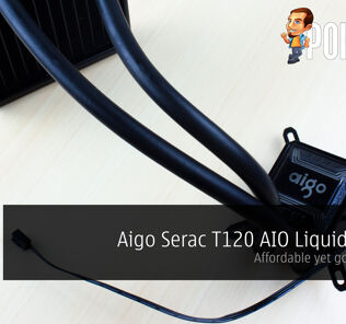 Aigo Serac T120 AIO Liquid Cooler Review — affordable yet good looking 41