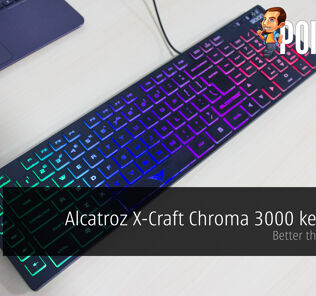 Alcatroz X-Craft Chroma 3000 keyboard review — Better than nothing 23