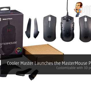 Cooler Master Launches the MasterMouse Pro L RGB – Customizable with 3D printing part 25