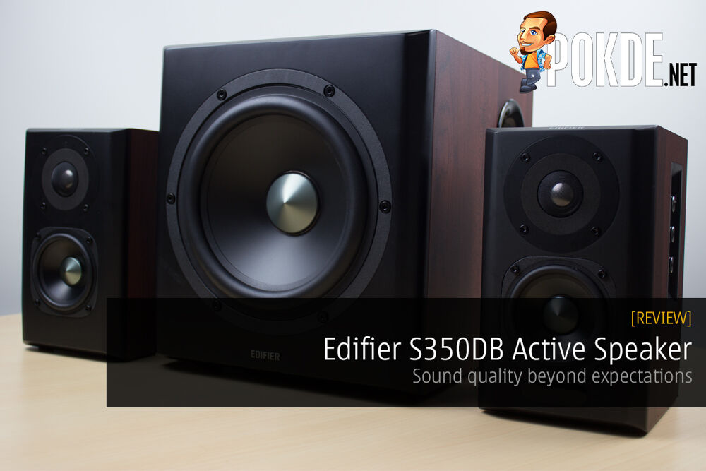 Edifier S350DB Active Speaker review — Sound quality beyond expectations 23