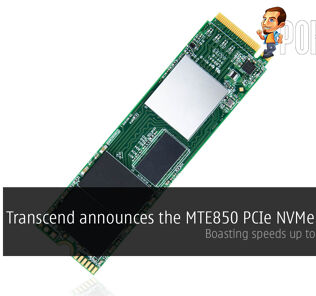 Transcend announces the MTE850 PCIe NVMe M.2 SSD, boasting speeds up to 2500MB/s! 37