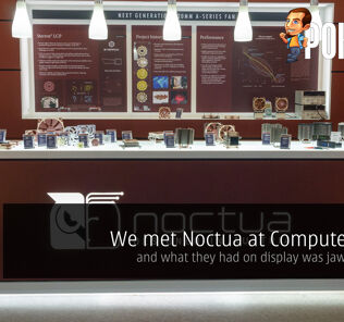 We met Noctua at Computex 2017 And what they had on display was jaw-dropping 25